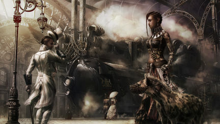 Steampunk Witch Doctor