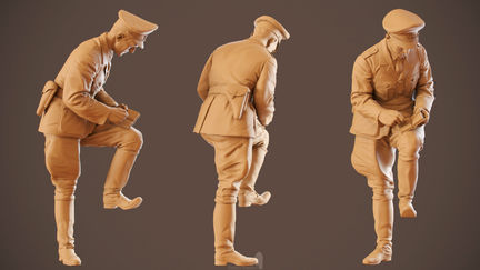 German policeman WW2