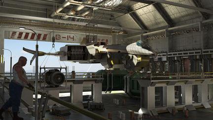 Hangar B -14