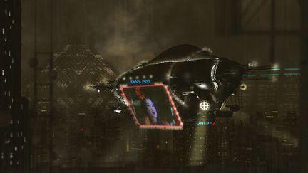Blade Runner Blimp