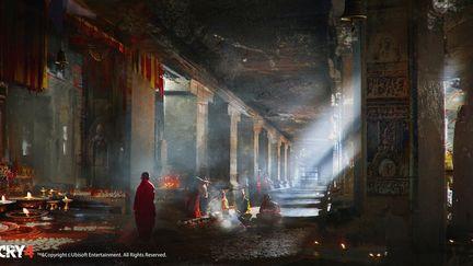 FarCry4 Concept Art - Temple Inside
