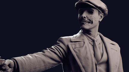 """Richard Harrow - """"He fought, and he lost."""""""