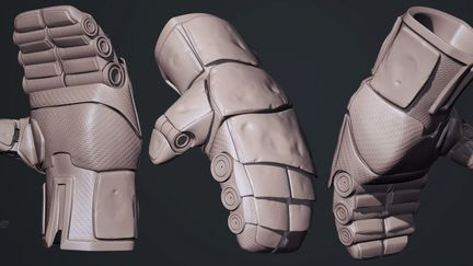 Real Steel - Atom Glove