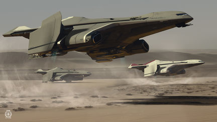 STAR CITIZEN - HERCULES STARLIFTER