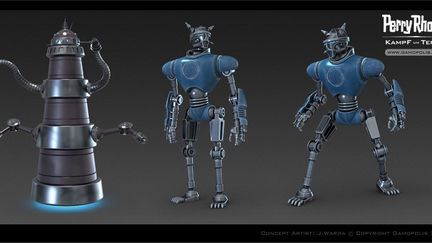Concept Art: Perry Rhodan - Battle for Terra