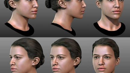 """Character for game """"BATTLE: LOS-ANGELES"""" (SABER Interactive)"""