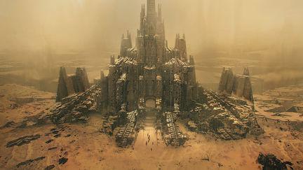 crumbling city