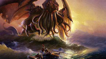 Cthulhu and the ninth wave