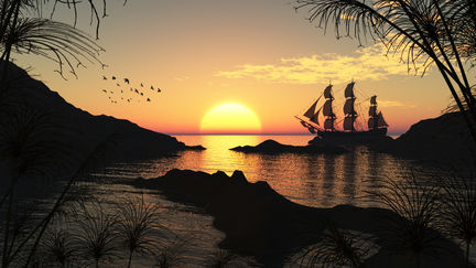 Loves Sun Set