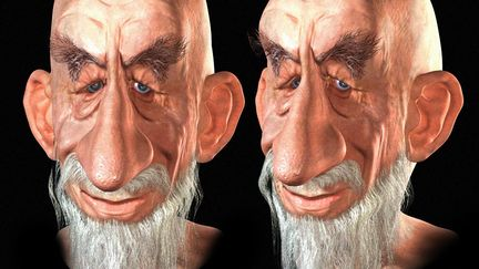 Oldman Carricature