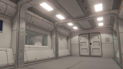 Modular Sci Fi Corridor 1