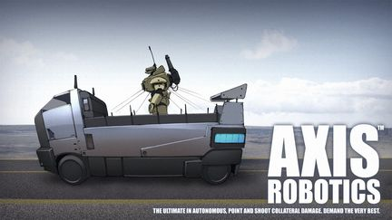 AXIS Robotics transport vehicle