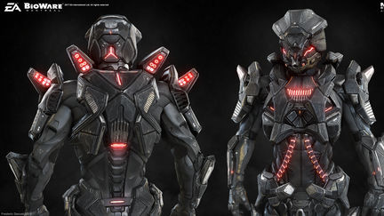 Mass Effect Remnant armor