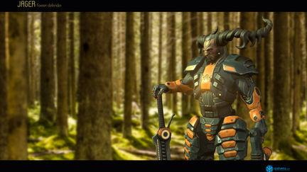 Jager - forest defender