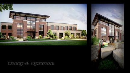Exterior View Of New Student Sucess Center