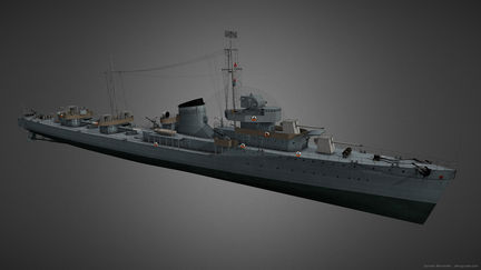 "Destroyer ""Gremyashiy"""