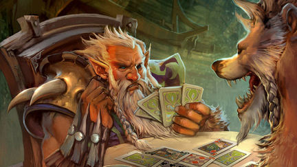 Playing cards of the Druid