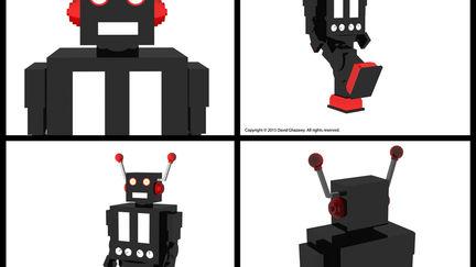 A Tin Town War - Video Game Character