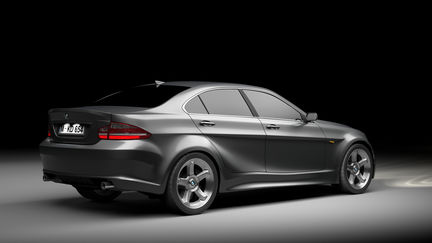 2012 BMW 3-series Concept rear