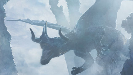 Santa Georgina vs The Dragon