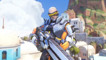 Overwatch Cyborg Soldier: 76