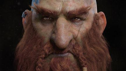 Sam'andûn, the Warrior Dwarf
