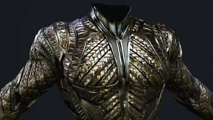 Justice League - Aquaman Armor
