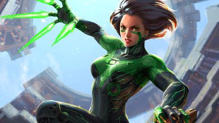 Green Angel Alita