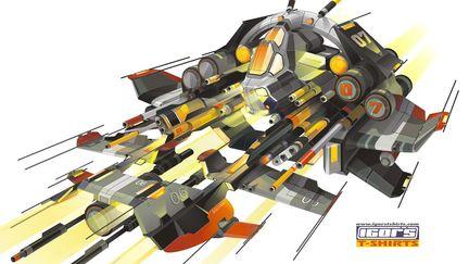 Vector ship concept