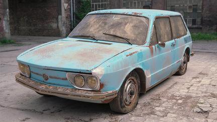 3D VW Brasilia Abandoned