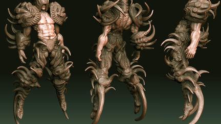 Droojun-high resolution sculpt 01