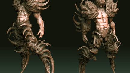 Droojun-high resolution sculpt 02