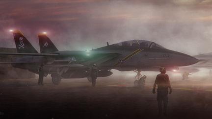 US Navy F-14B Tomcat