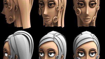 WIP - Character design for Strange Behavior