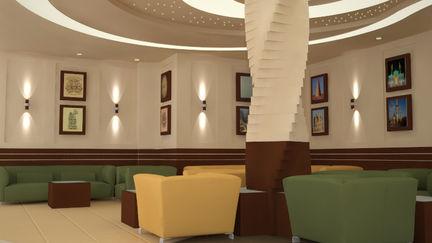 hotel waiting area