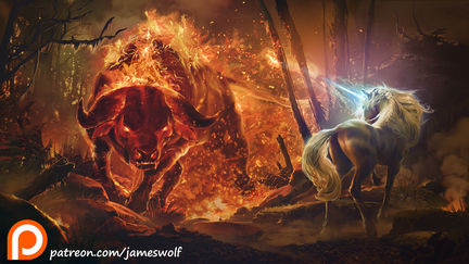 king haggards red bull