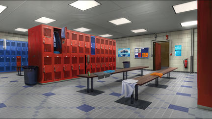Lockers room - LIFE IS STRANGE