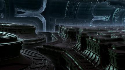 Giger Landscape- 3d exploration