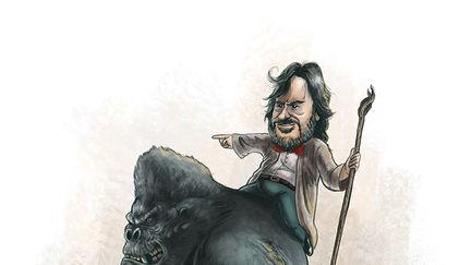 Peter Jackson Caricature