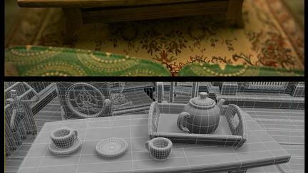 Stopmotion Set CGI
