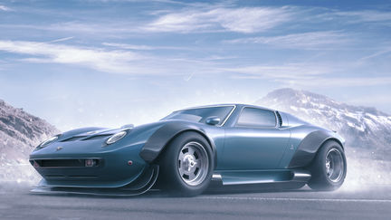 Lamborghini Miura Widebody