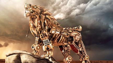 Steampunk Nemean Lion
