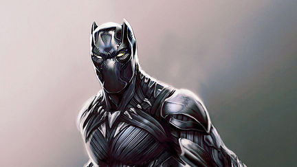 Black Panther Concept Art for Captain America: Civil War