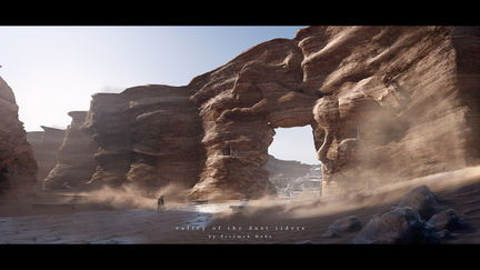 valley of the dust riders