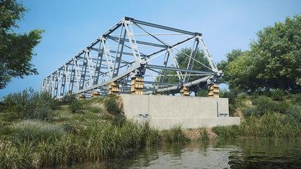 Modular Steel Truss Bridge