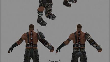 Gladiator SDK texture : Dirty Gary