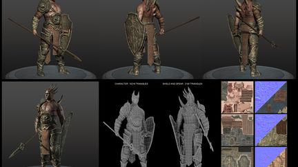Horned warrior