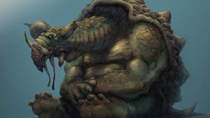 Tortoise creature