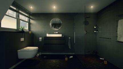 Crime Scene Bathroom