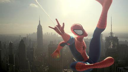 Spidey Over Manhattan